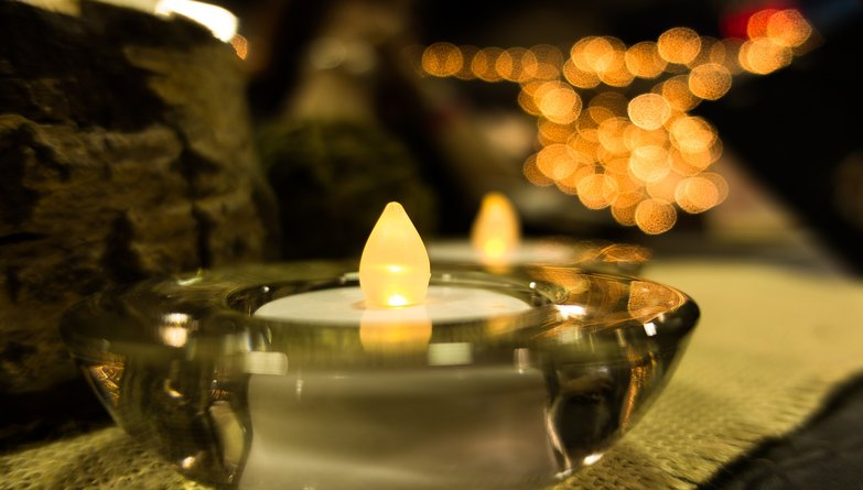 Autumn Glow By Candlelight