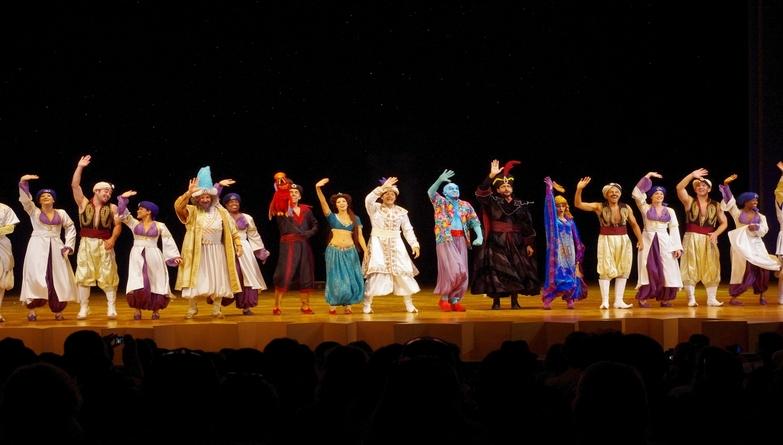 Aladdin Pantomime Kent